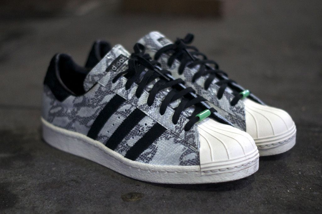 ADIDAS Year of the Snake Superstar 80s - White | Sneaker | Kith NYC