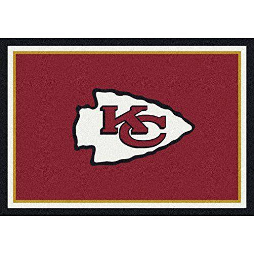 Milliken 4000095152 Kansas City Chiefs Nfl Team Spirit Area Rug 310 X 54 Multicolored Click Kansas City Chiefs Football Kansas City Chiefs Logo Kansas City