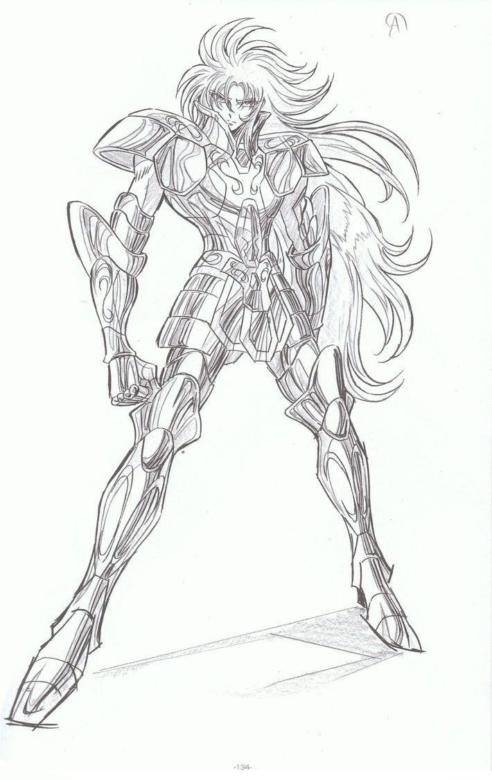 Saga de geminis dibujado por yoshihiko umakoshi el nuevo - Coloriage saint seiya omega ...