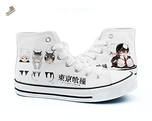 d236eaf3f2f3f Tokyo Ghoul Kaneki Ken Cosplay Shoes Canvas Shoes Sneakers Black ...