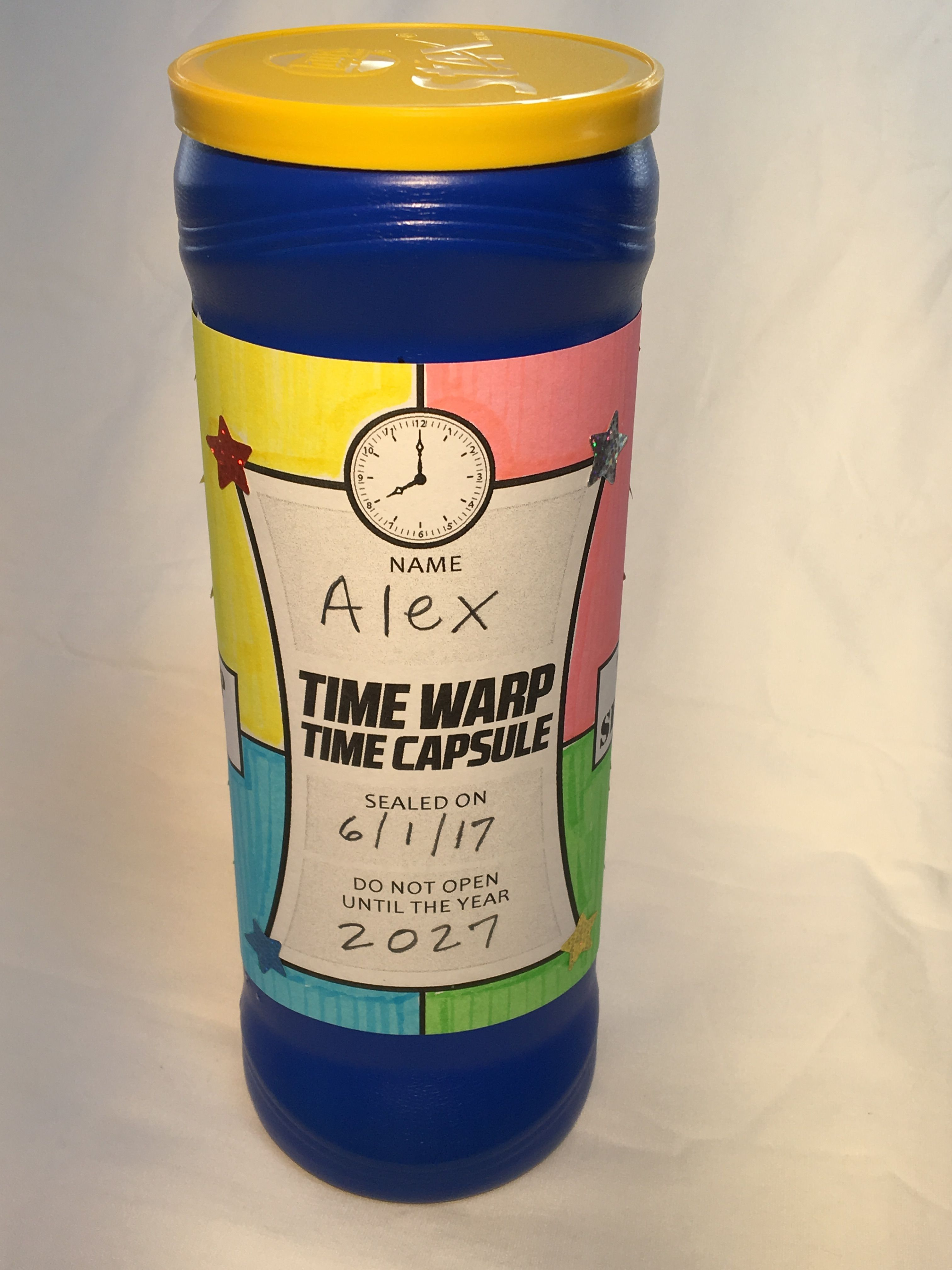 Time Capsule Definition Meaning: Time Warp Time Capsule -- Day 4 #VBScraft At #TimeLab
