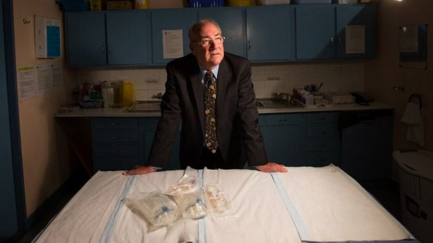 Dr Geoff Kemp Has Been Giving Intravenous Antibiotics To People He