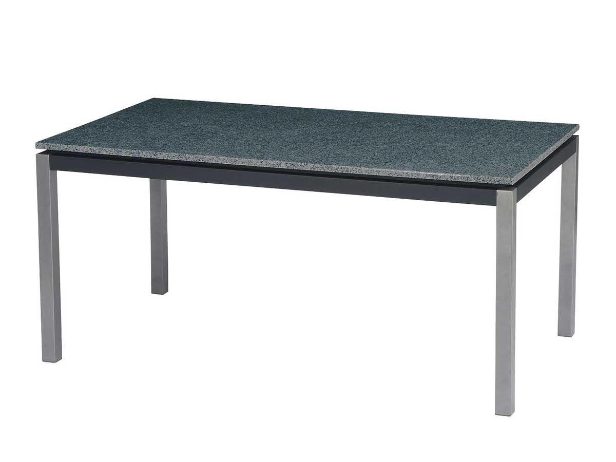 Stern Gartentisch/Tischsystem Lazy Aluminium graphit Granit ...