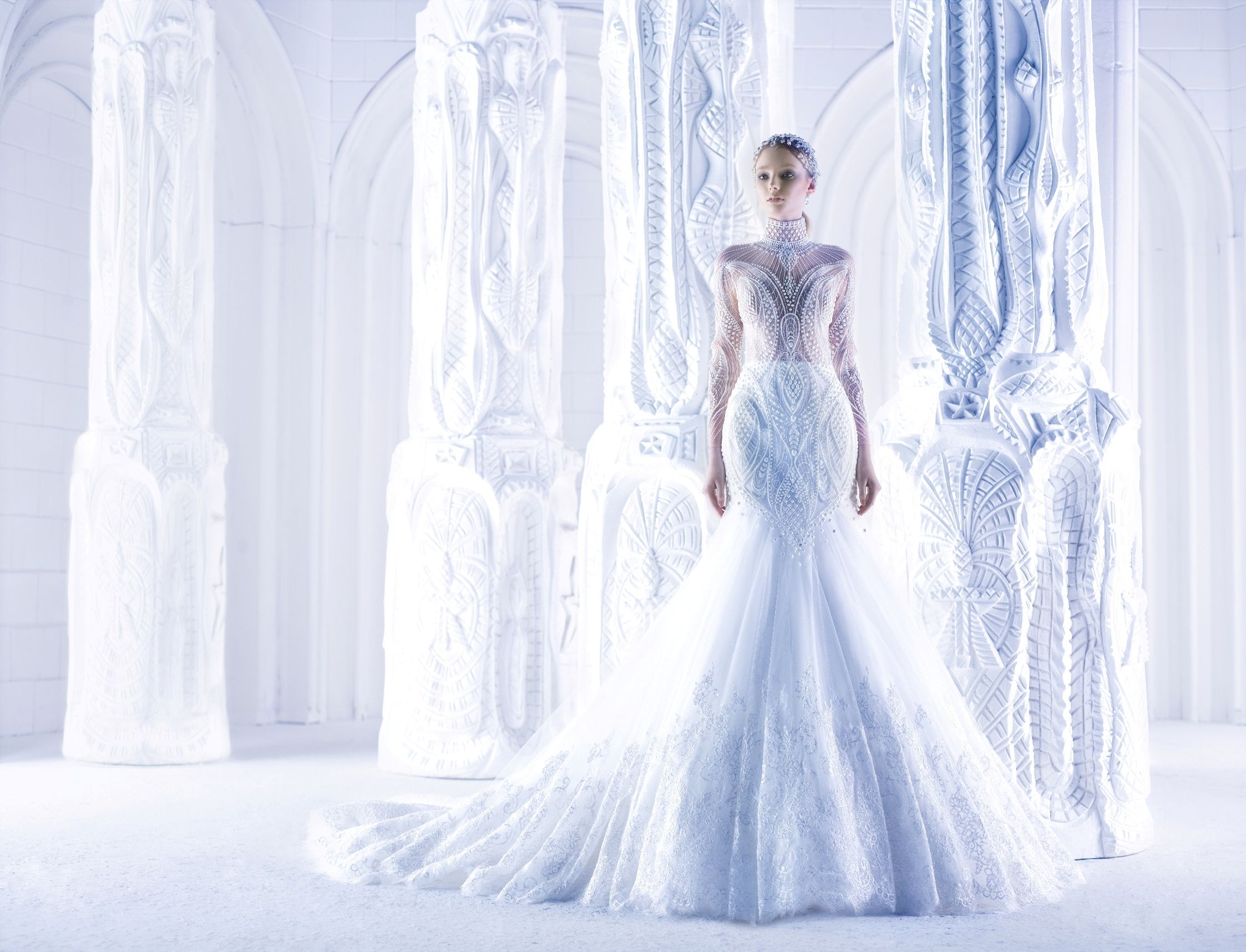 Not your ordinary wedding gown by Michael Cinco | Wedding ...