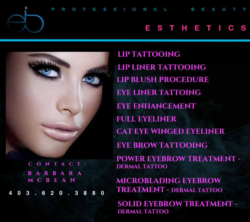 PERMANENT MAKEUP SERVICE Are you looking for stunning