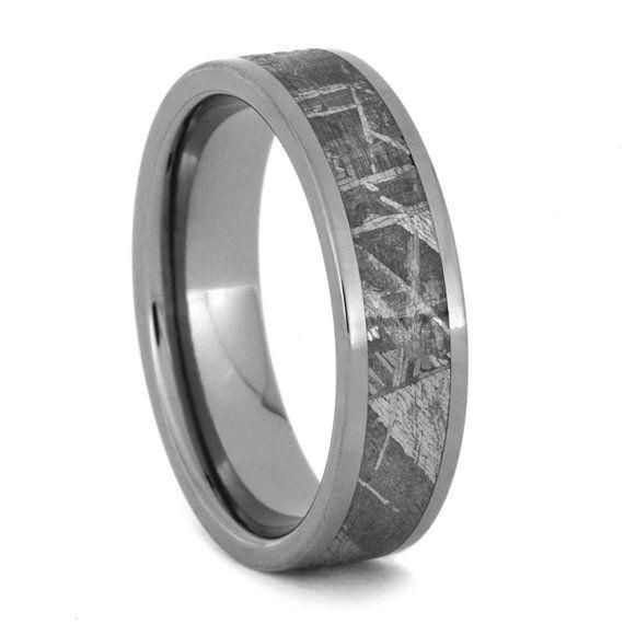 10 Off Meteorite Ring Meteorite Wedding Band Meteor Titanium Ring Mens Meteorite Ring Mens Meteorite Ring Mens Wedding Bands Meteorite Mens Wedding Rings