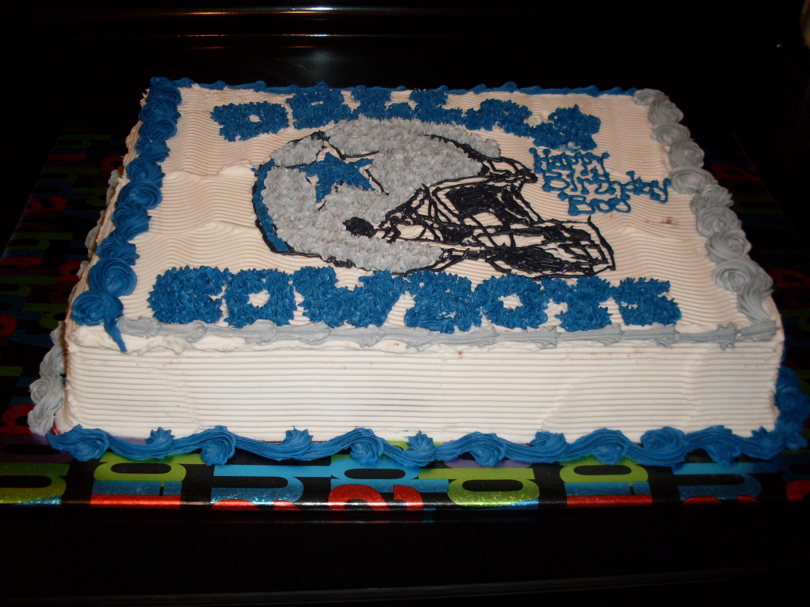 Men Cakes Birthday Dallas Cowboys