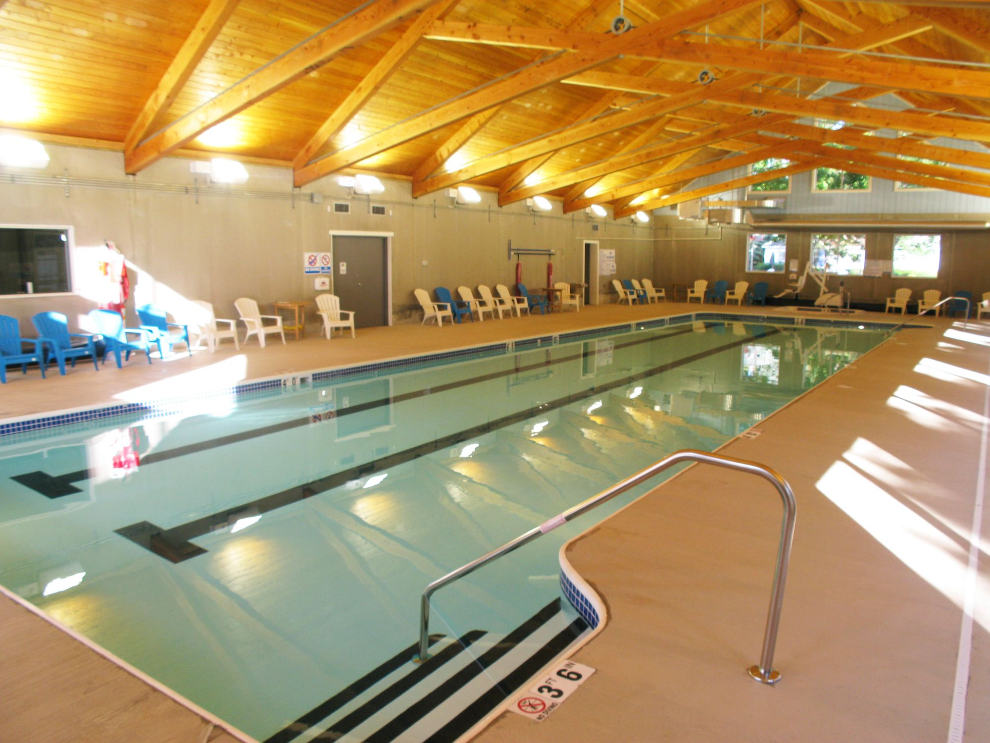 Indoor Saltwater Pool At We Wan Chu Cottages Chautauqua Ny Indoor Pool Saltwater Pool Indoor