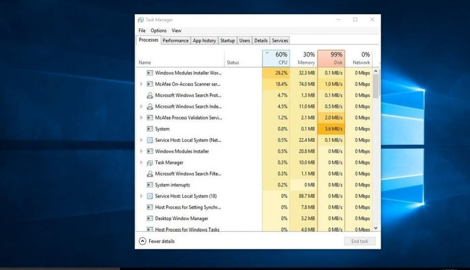 Solved Windows Modules Installer Worker High Cpu Or Disk Usage Problem Windows 10 In 2020 Windows 10 Computer Checks Solving