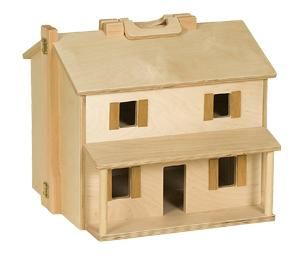 Amish Wooden Folding Dollhouse Wooden Dollhouse Making Wooden