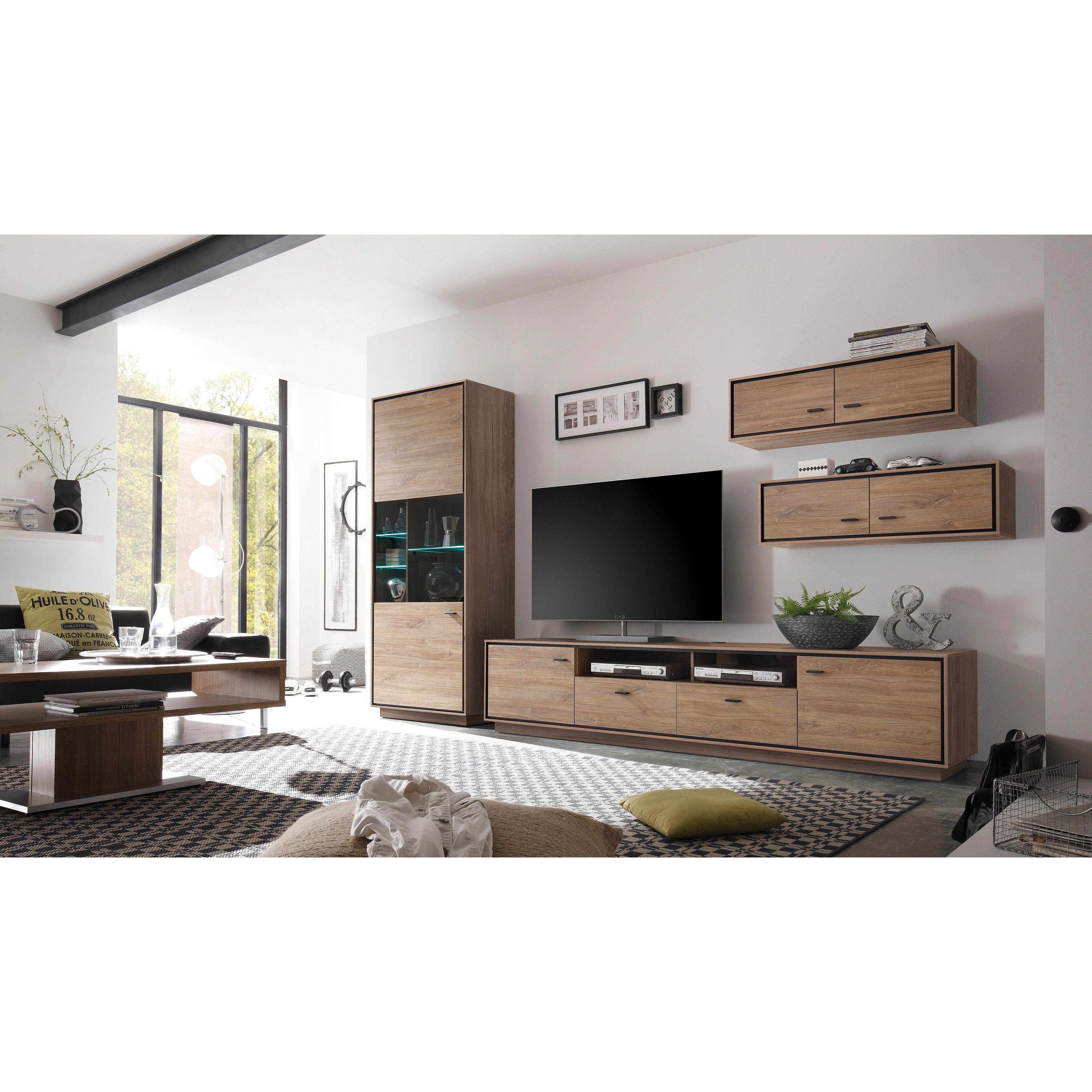 Hazelwood Home Salinas Tv Lowboard Wayfair Uk Meuble