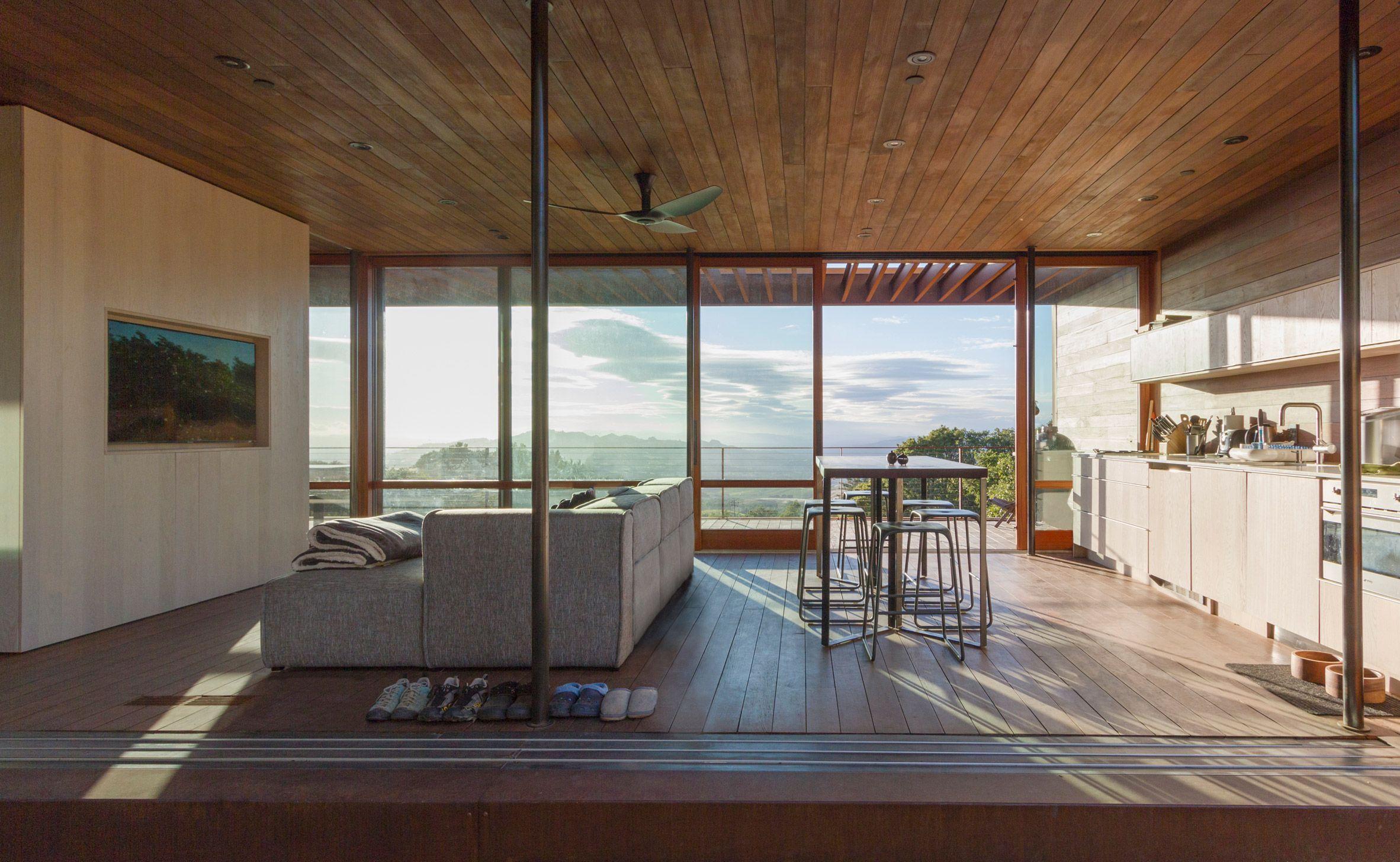 sonoma weehouse by alchemy architects interior design prefab rh pinterest com