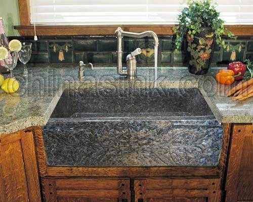 stone farmhouse kitchen sinks farm sink