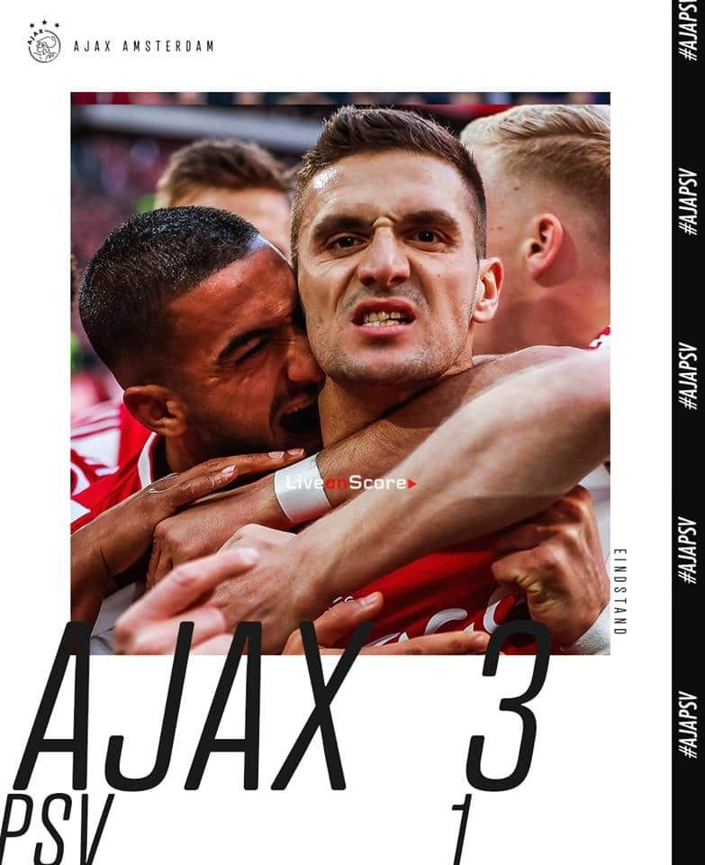 Ajax 3 1 Psv Eindhoven Full Highlight Video Eredivisie 2019 Allsportsnews Eredivisie Football Highlightvideos Match Highlights Big Three Psv Eindhoven