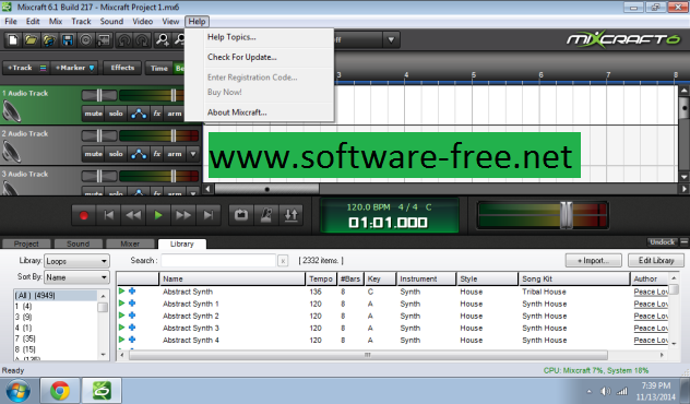 Mixcraft 6 Crack Keygen Build 217 Full Free Download | Software Free