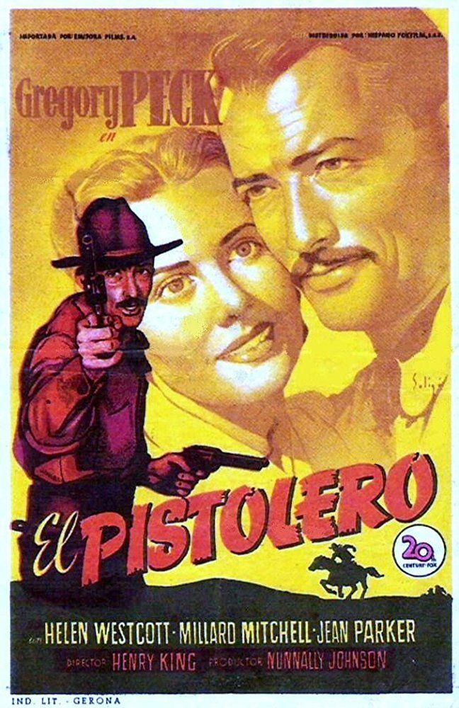 El Pistolero 1950 Título Original The Gunfighter Ee Uu Género Películas Western Drama Director He Western Film Movie Posters Vintage Western Movies
