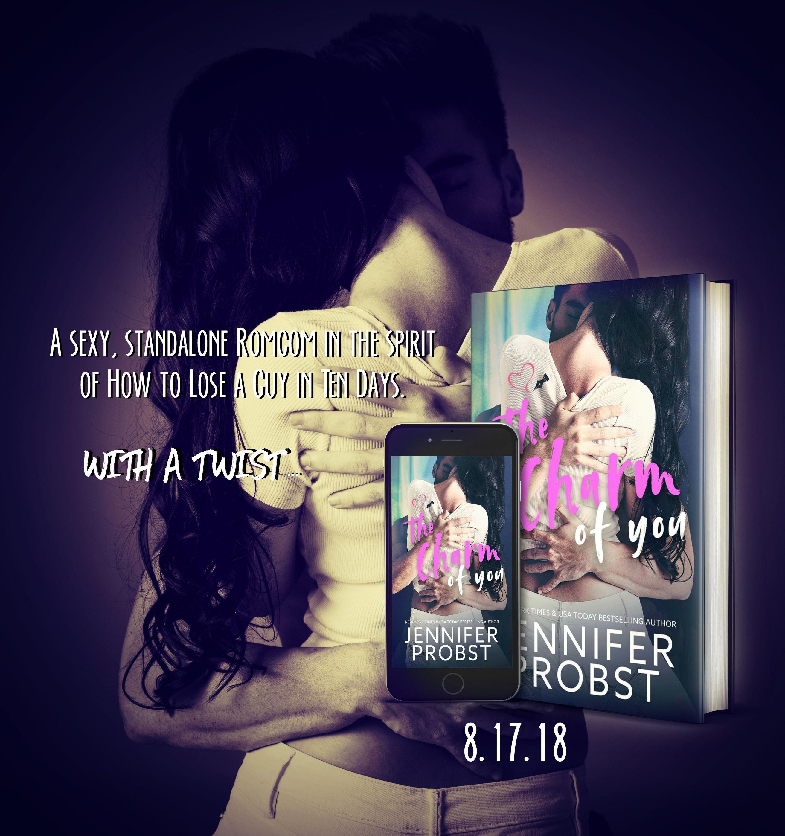 I Love Romance Happy Book Week The Charm Of You By Jennifer Prob Happy Books Book Week Happy