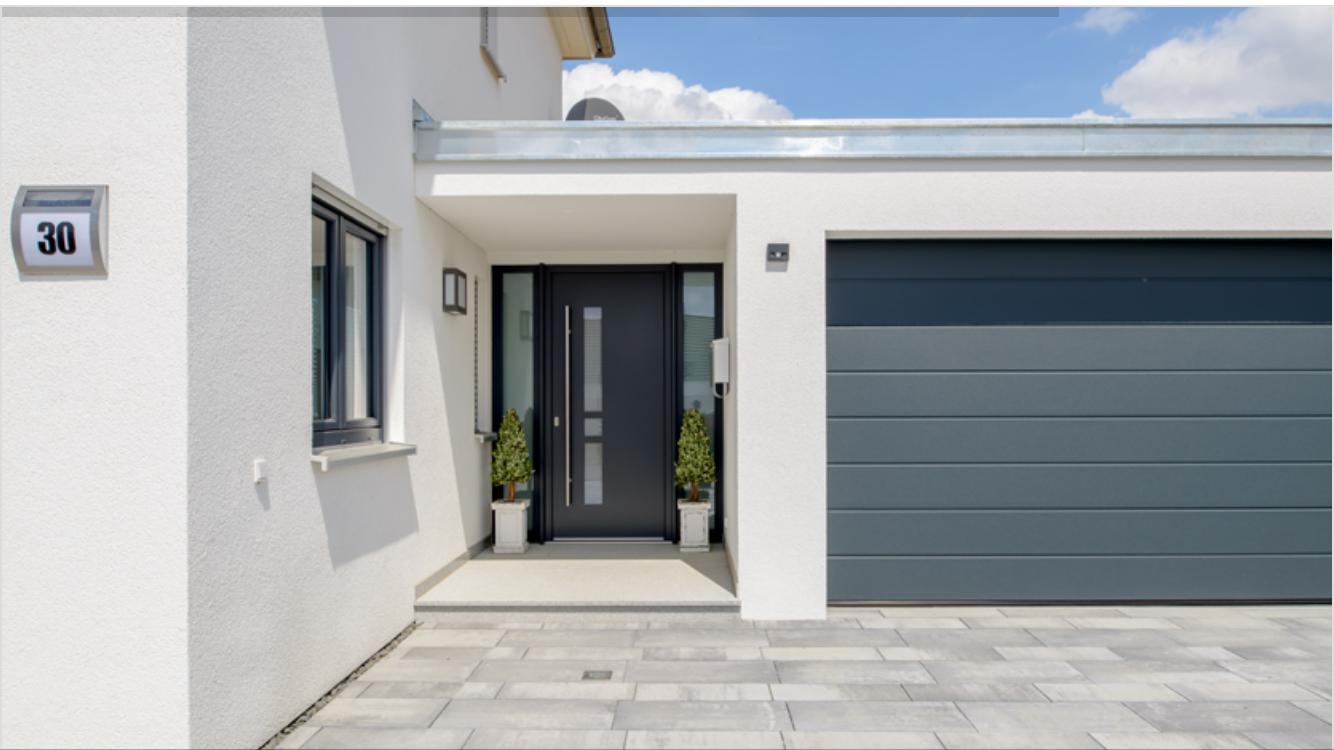 Optimal genutztes Dach mit angeschlossener Garage   – Pluen | Dreamhouse