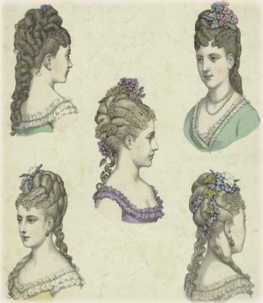 Brilliant 1000 Images About Steampunk Victorian And Edwardian Hair Styles Short Hairstyles Gunalazisus