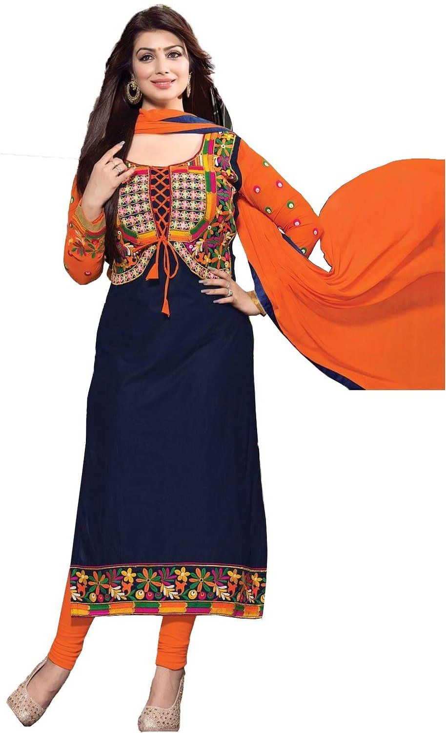 chakudee by blue cotton drees material: Amazon.in: Clothing ...