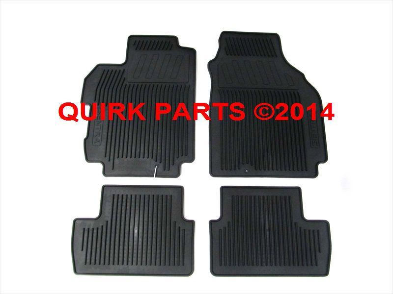Cool Great 2007 2012 Nissan Sentra All Weather Season Rubber Floor