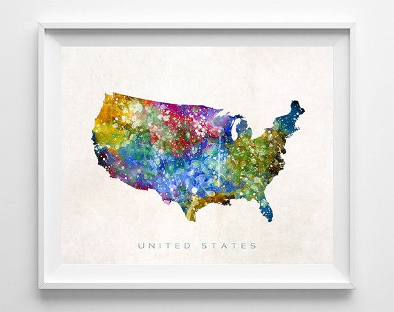 Get United States Poster Map Pictures
