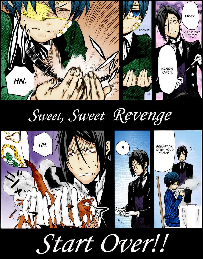 Dear Diary, All I can say is sweet sweet revenge, he deserved it for whacking me like that what can I say!?!