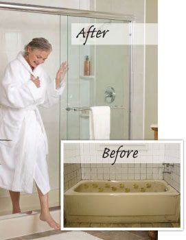 Turn Bathtub Into Walk In Shower Converting Bathtub Into Walk In