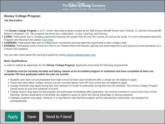 Beautiful Insider Tips From A Disney College Recruiter U2013 Disney Internships U0026 Programs  Blog