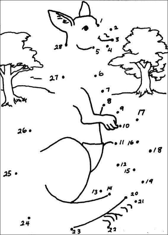 Dessin kangourou buscar con google enfants pinterest - Kangourou dessin ...