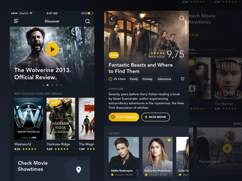 Movie App Movie App App Interface App