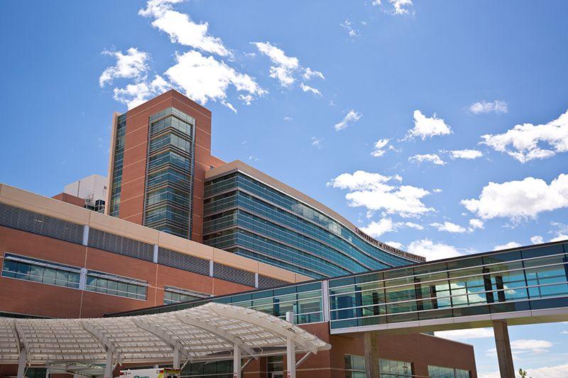 University Of Colorado Hospital Across The Street University Of Colorado Hospital Skyscraper
