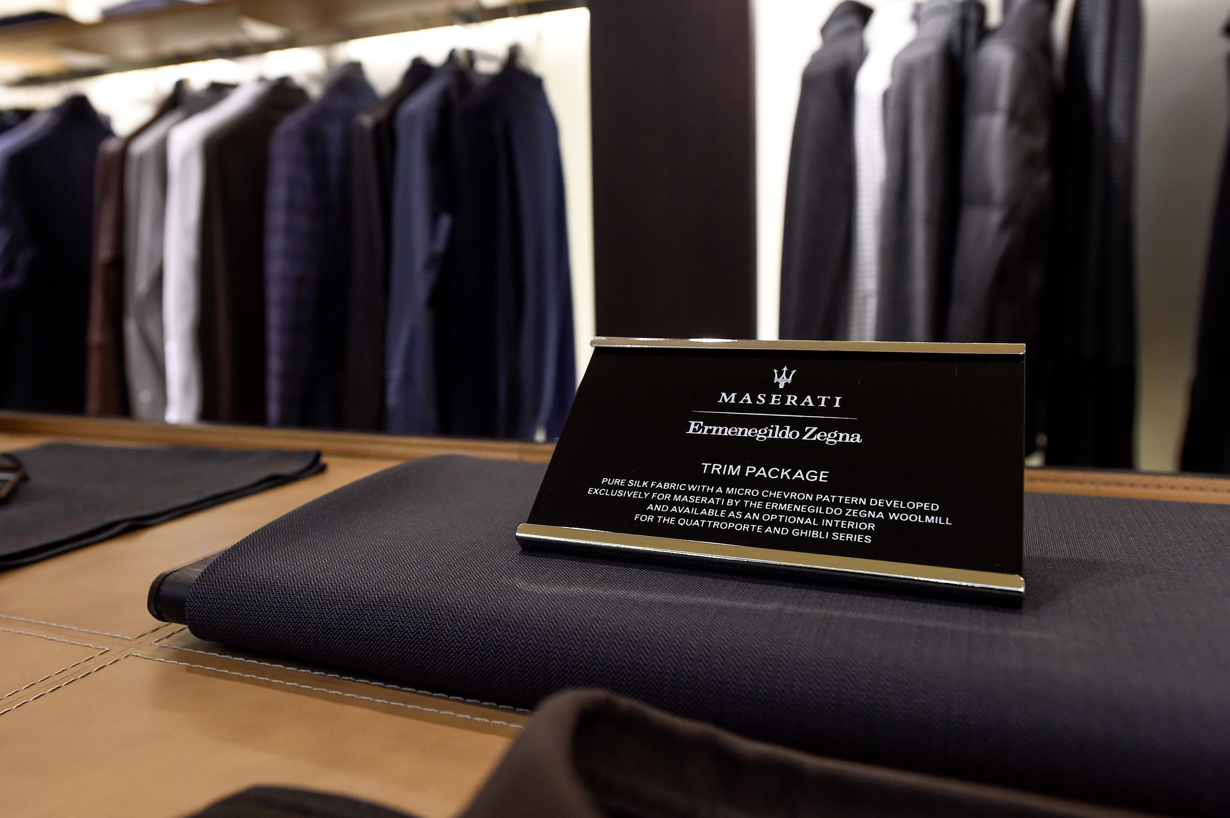 Heritage Craftsmanship And Elegance It S The Ermenegildo Zegna Maserati Capsule Collection Showcased Yesterday At The Zegna Boutique In Frankfurt Take A Look