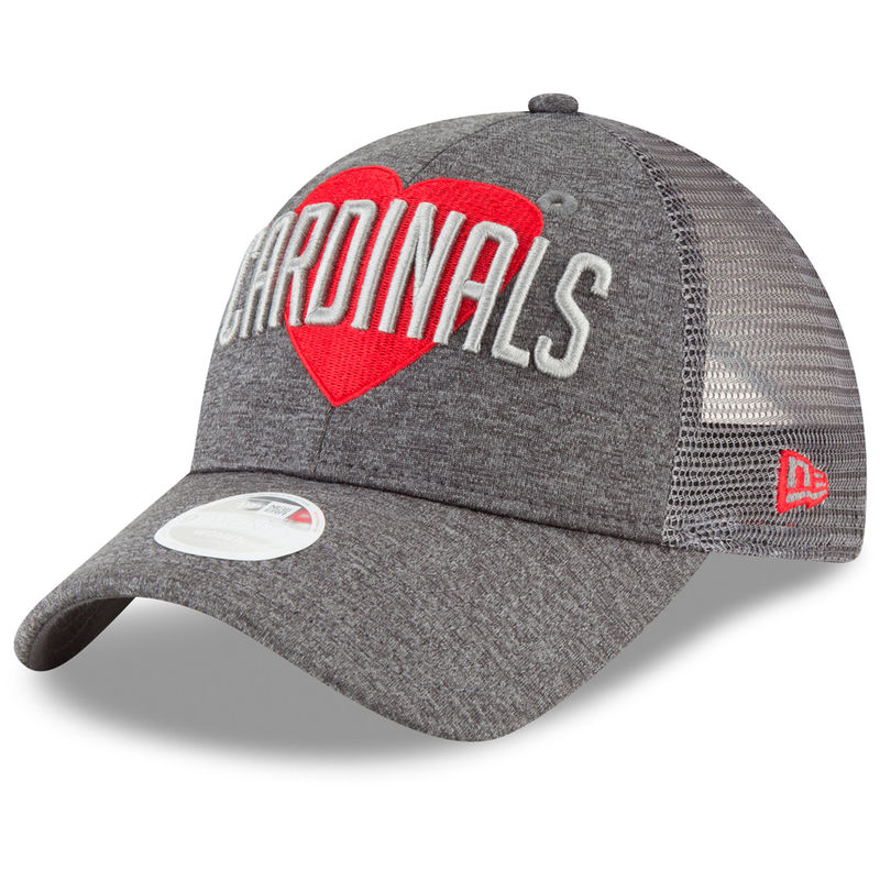 new arrival 6c885 69714 ... discount code for st. louis cardinals new era womens snapped love 9twenty  adjustable hat graphite