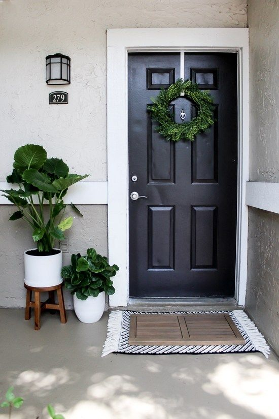 Renter and Budget Friendly Front Porch Decor - Within the Grove