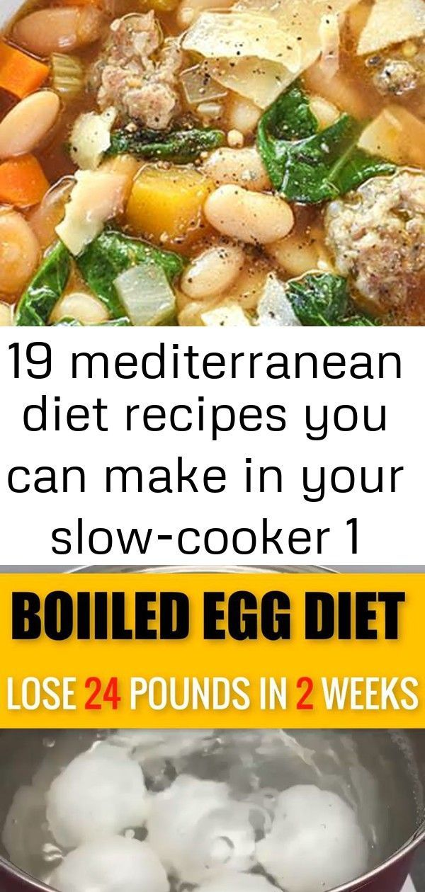 19 Mediterranean Diet Recipes You Can Make in Your Slow-Cooker #purewow #mediterranean #recipe #food...