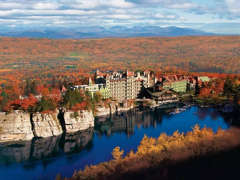 Historic Hotels In New York State Mohonk