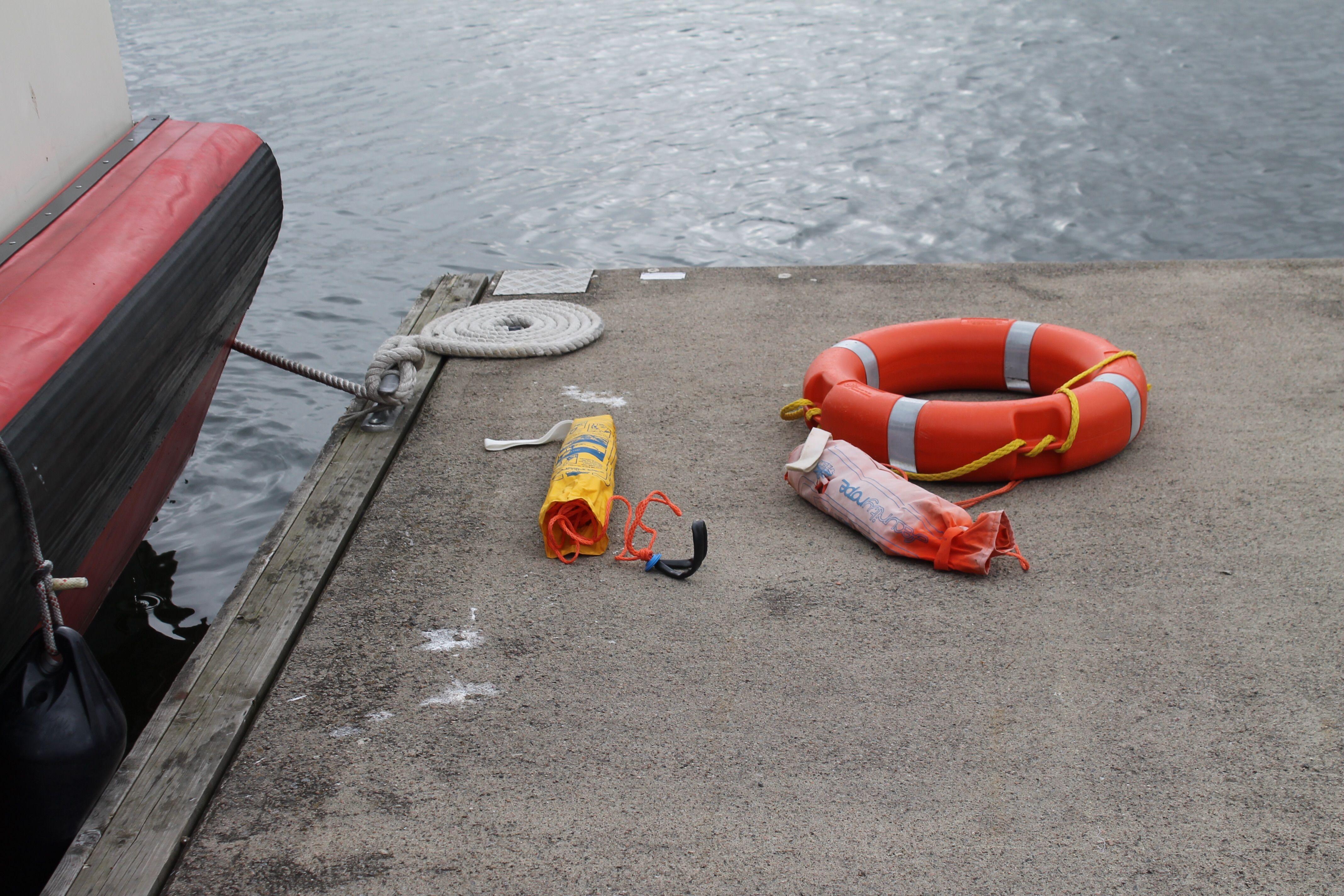 Lapsille kerrottiin turvallisuudesta vesillä