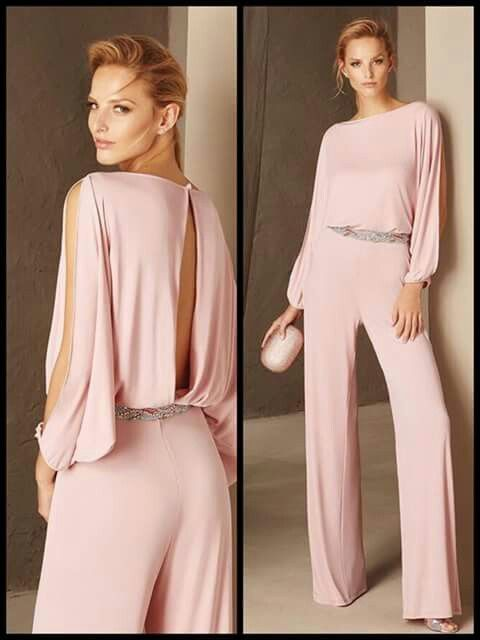 84d8afb8bd9f Pink long sleeve jumpsuit