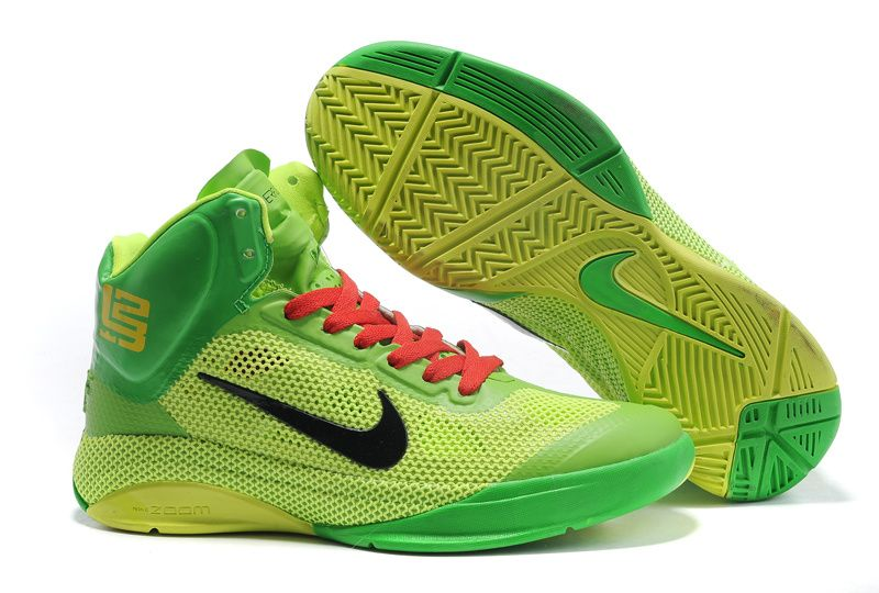Nike Zoom Hyperfuse Xdr High Lebron Grass Green For Sale Discount