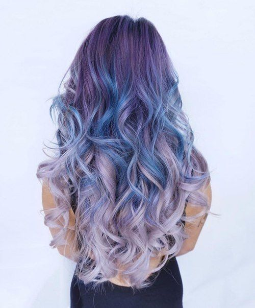 Pin On Ombre Pastel Hairstyles