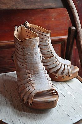Details about Bed*Stu Free People daisy wedge gladiator