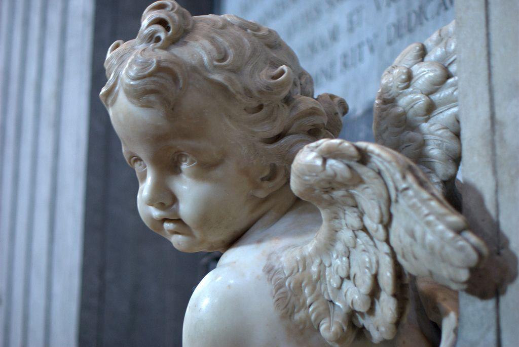 Cherub angel baby statue | Art in 2019 | Sculpture, Statue ...