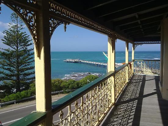 Grand Pacific Hotel Lorne View From Verandah Australia Http Www