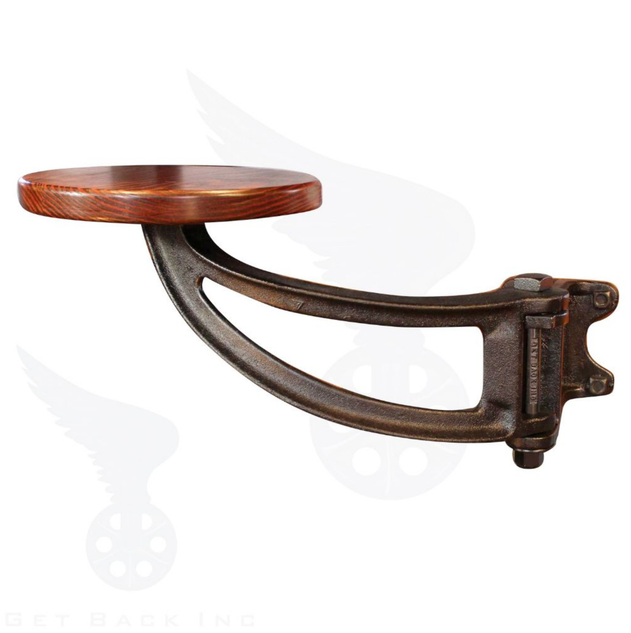 The Get Back Original Swing Out Seat With Images Bar Stools