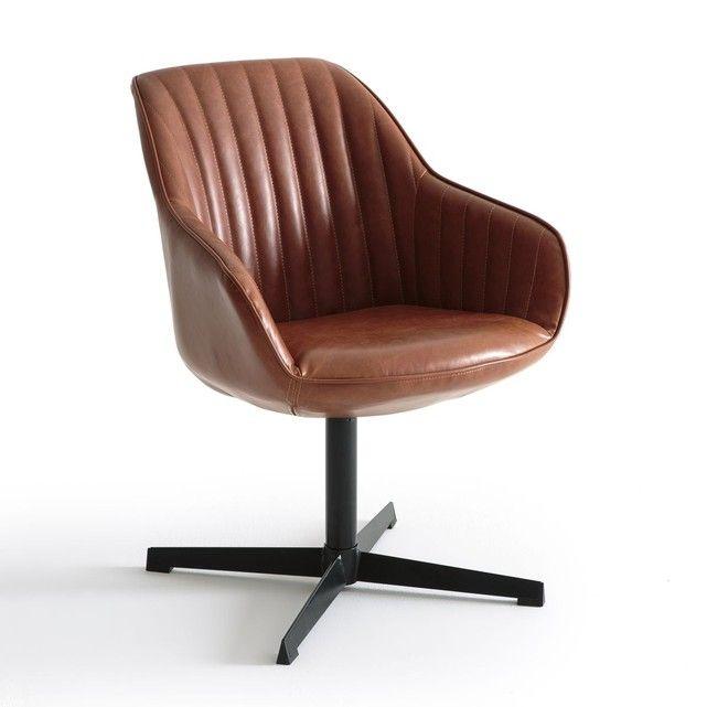 Fauteuil De Bureau Rotatif Hiba En 2020 Fauteuil Bureau Fauteuil Bureau Design Chaise De Bureau Vintage