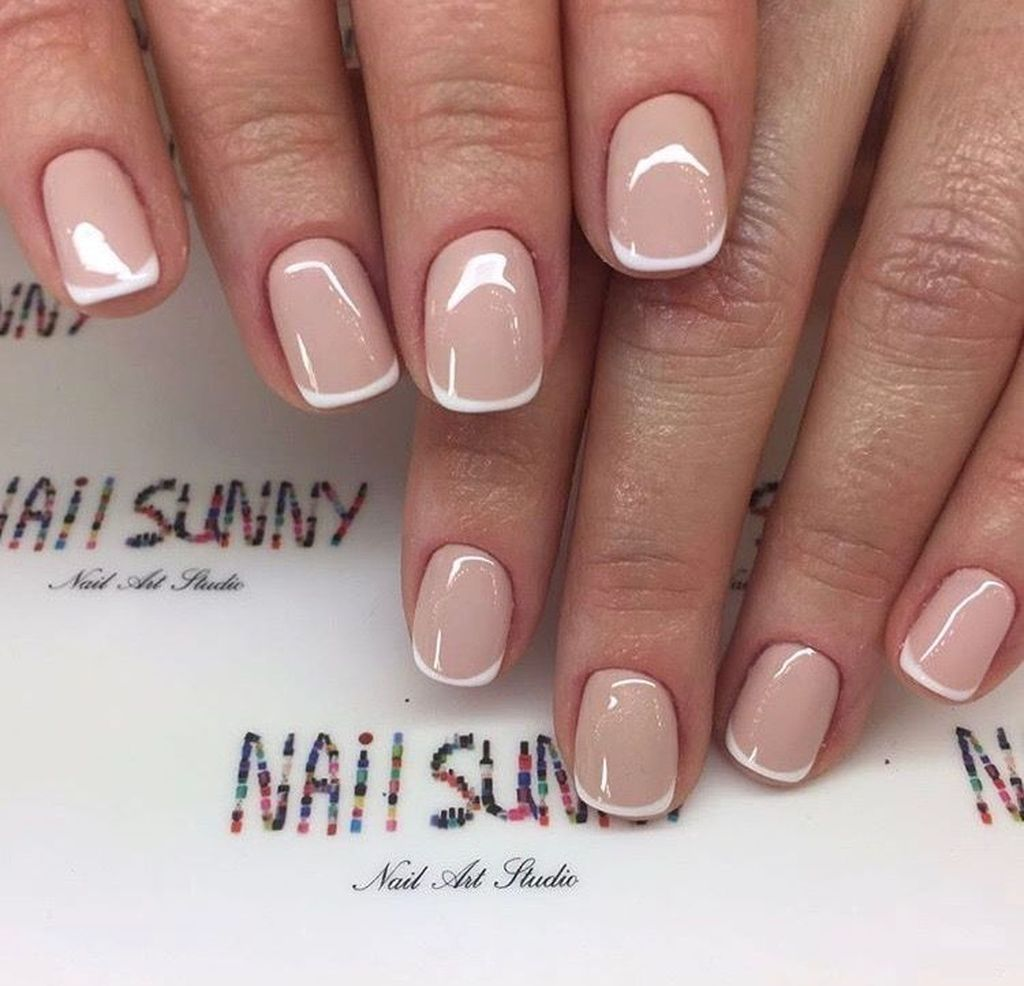 Pin By Larita Poletti On Makeup Manis Manicures Designs Manicure French Tip Nails