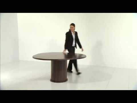 The SKO 204 Table Is Equipped With A Unique Extension System By Turning