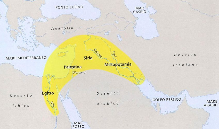 Risultati Immagini Per Mezzaluna Fertile Mesopotamia Storia