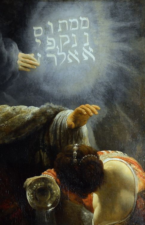 Belshazzar S Feast Detail C 1636 38 Rembrandt The Source For The Painting Is The Book Of Daniel Belshazzar Ki Rembrandt Rembrandt Van Rijn Biblical Art